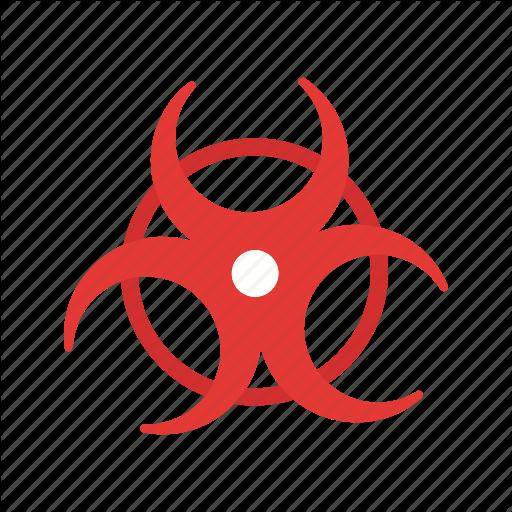 Biohazard, Biological, Danger, Hazard, Medical Sign Icon