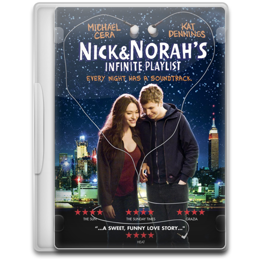 Nick And Norahs Infinite Playlist Icon Movie Mega Pack Iconset