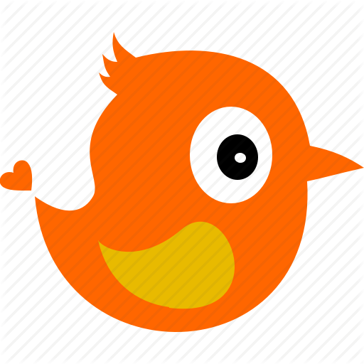 Animal, Bird, Cartoon, Fauna Icon