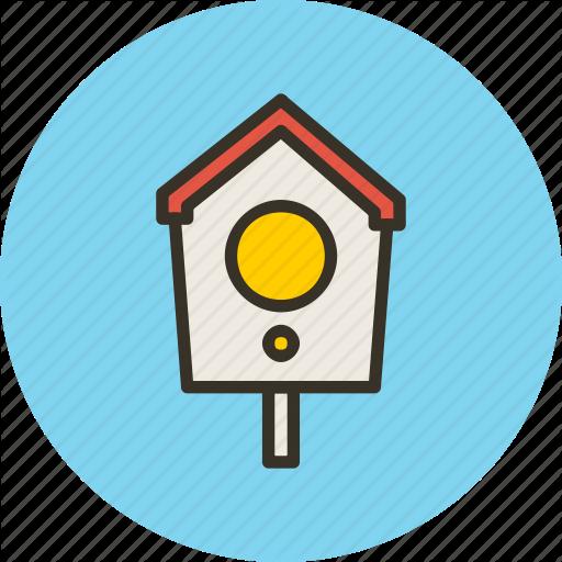 Bird, Box, Home, Nest, Nesting Icon