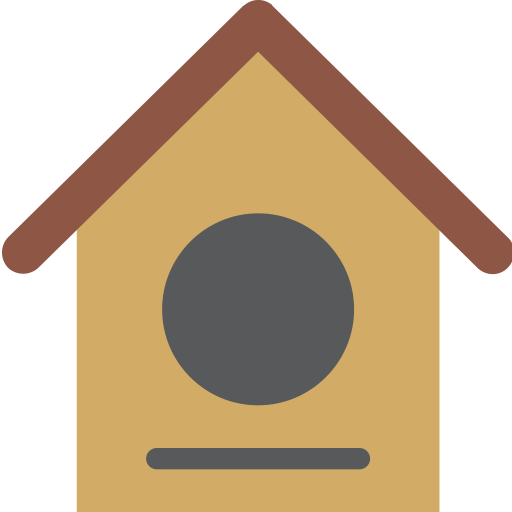 Bird, Construction, Home, House, Nest Icon