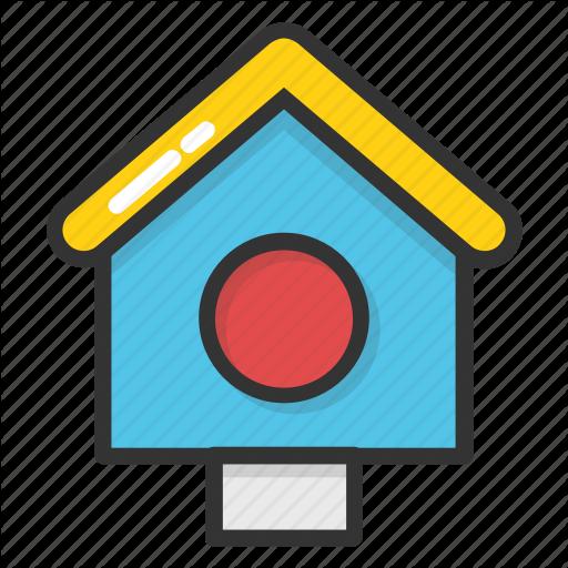 Bird Box, Bird House, Bird Nest, Nest Box, Roosting Box Icon