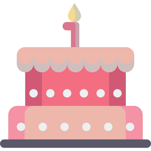 Cake, Bakery, Birthday, Celebration, Dessert, Food, Birthday Cake Icon