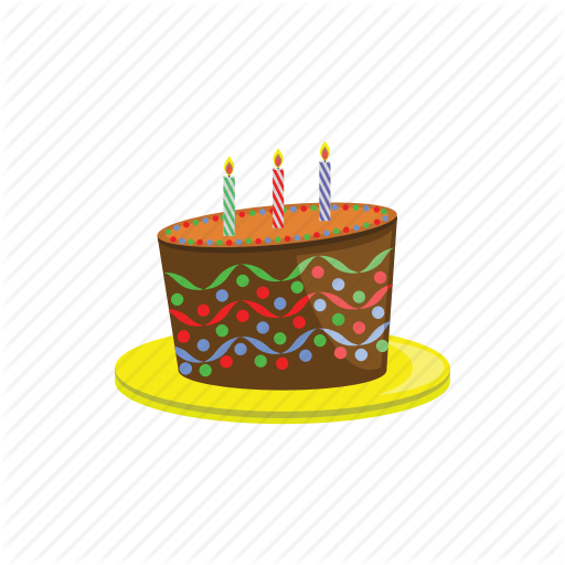 Birthday, Cake, Happy, Party Icon