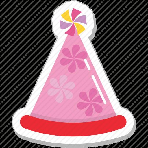 Birthday, Birthday Cap, Cone Hat, Party Cap, Party Hat Icon