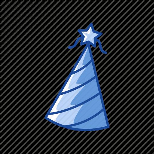 Birthday Hat, Celebration, Hat, Party Hat Icon