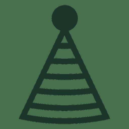 Minimalist Birthday Hat Icon
