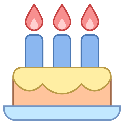 Birthday, Cake Icon Free Of Responsive Office Icons