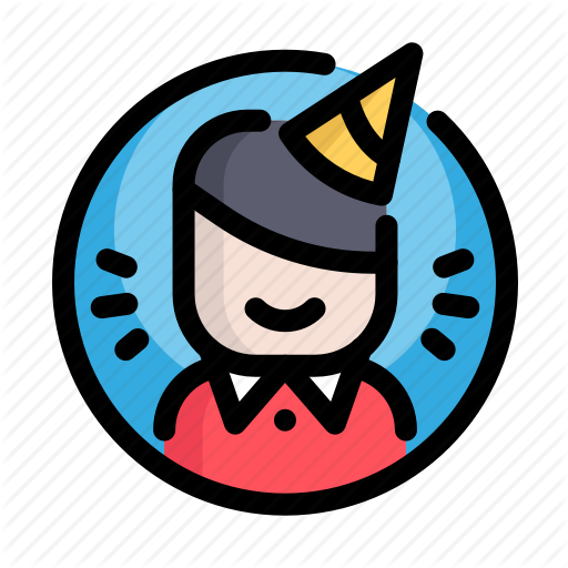 Birthday, Birthday Boy, Boy, Decoration, Man, Party Icon