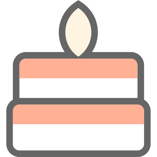 Birthday, Cake Vector Icon Free Icons Uihere