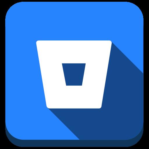 Bitbucket, Git, Version Control System Icon