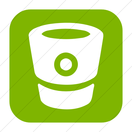 Simple Green Bootstrap Font Awesome Brands Bitbucket