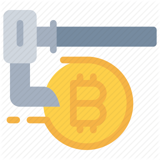 Bitcoin, Cash, Cryptocurrency, Dig, Money Icon