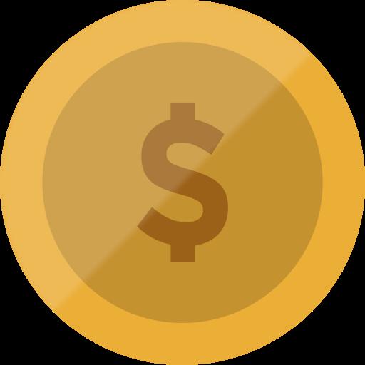 Currency, Coin, Bitcoin, Cash, Euro, Finance, Dollar Icon