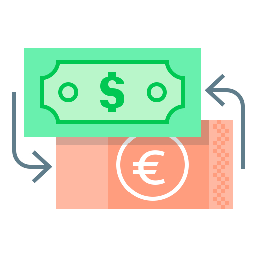 Exchange, Bitcoin, Money, Currency Icon