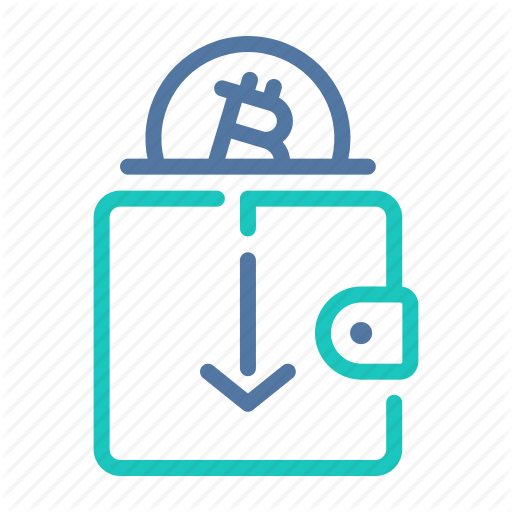 Address, Bitcoin, Digital, Payment, Receiving, Wallet Icon