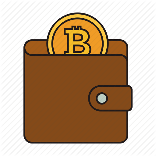 Bitcoin, Coin, Cryptocurrency, Wallet Icon