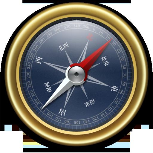 Compass Gold Blue Icon Compass Iconset Mcdo Design