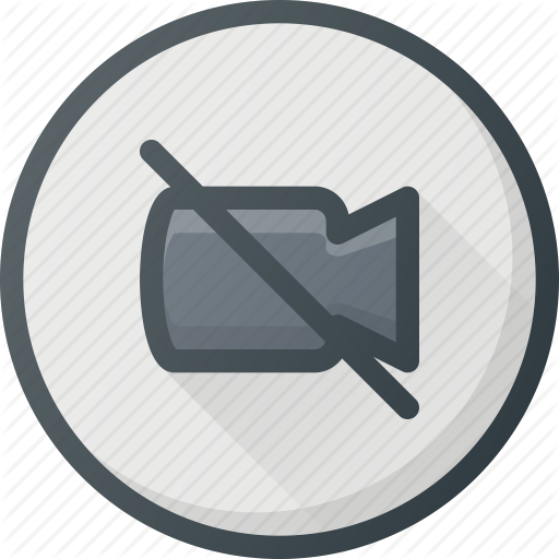 Camera, Conference, Disable, Meeting, Online, Video Icon