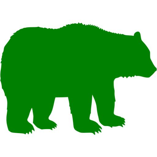 Green Bear Icon