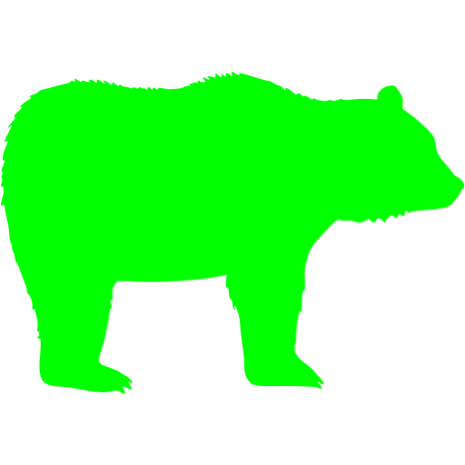 Lime Bear Icon