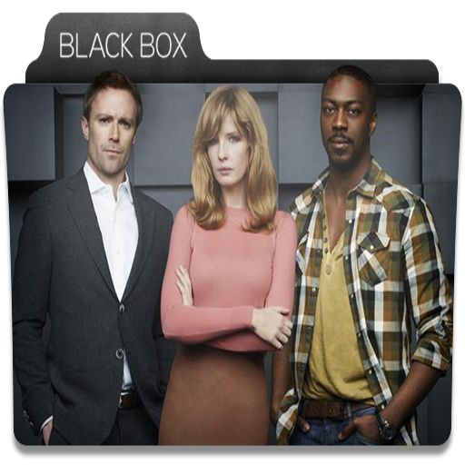 Black, Box, Tv, Series, Folder, Folders Icon Free