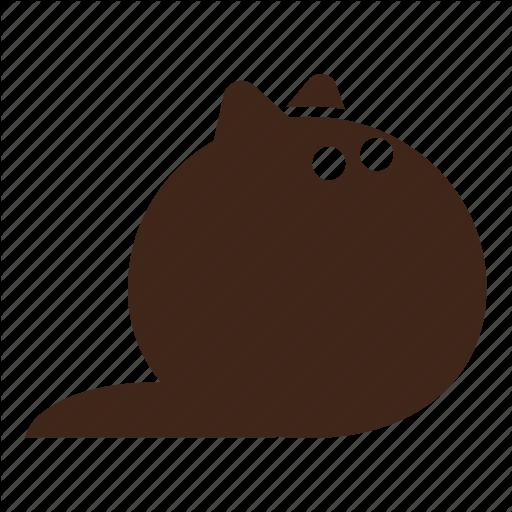 Animal, Black Cat, Cat, Fluffy, Pet Icon