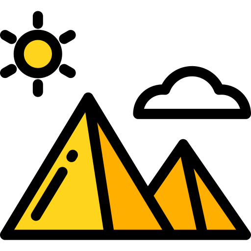 Pyramid Desert Png Icon