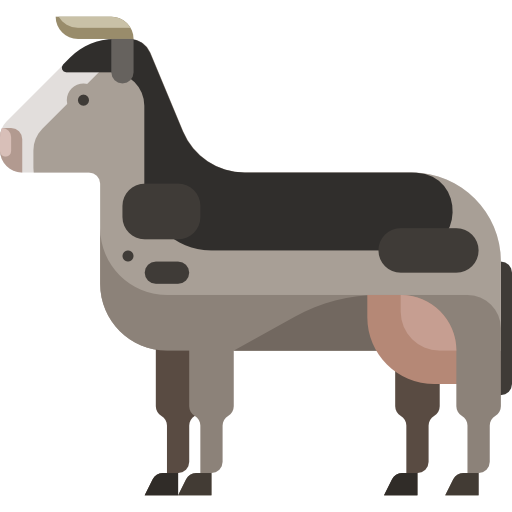 Animal Icon Set Black