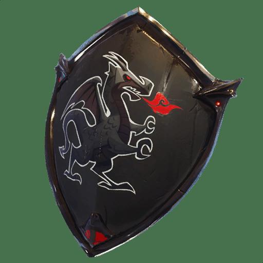Black Shield Back Bling Backpacks