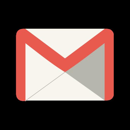Social Media Gmail Black Icon
