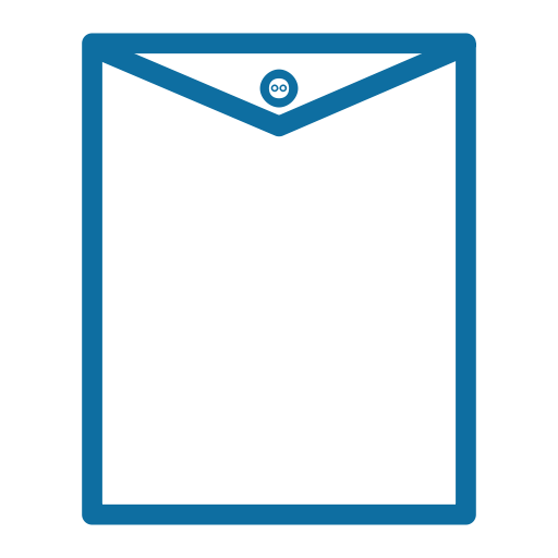 Envelope Outline Black Icon
