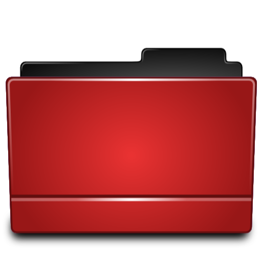 Red Folder, Directory Icon Png