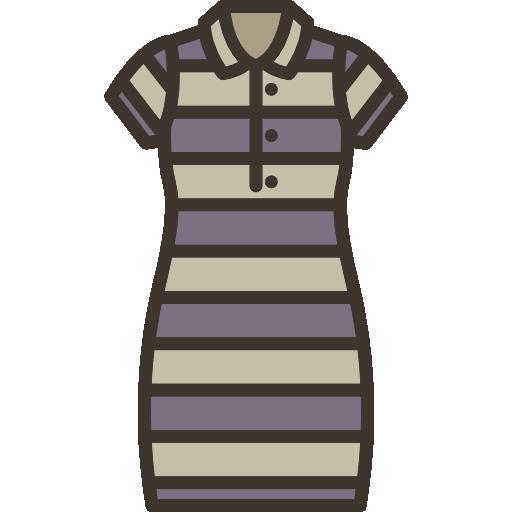 Fashion Flat Linear Color Fashion Set Black Icon