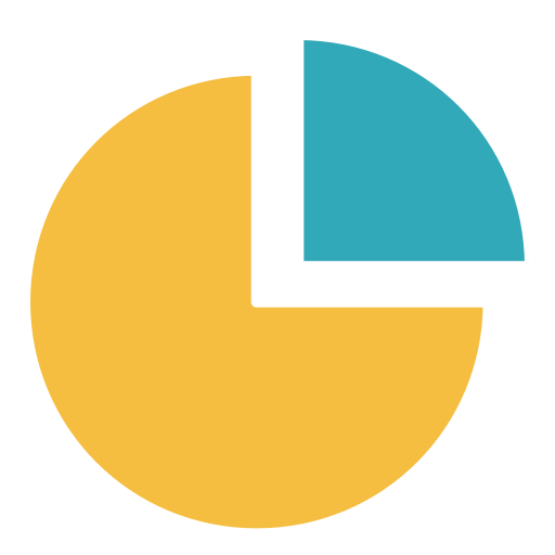Black Background, Diagram, Finance, Pie Chart, Presentation