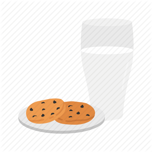 Cookies, Cookies Milk, Milk, Milk And Cookies Icon