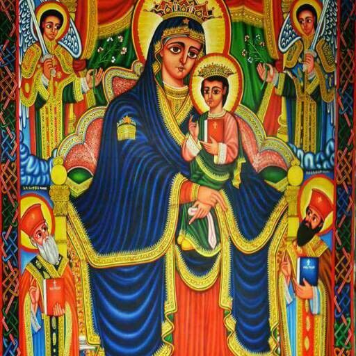 Ethiopian Orthodox Church Ethiopia Church Icon