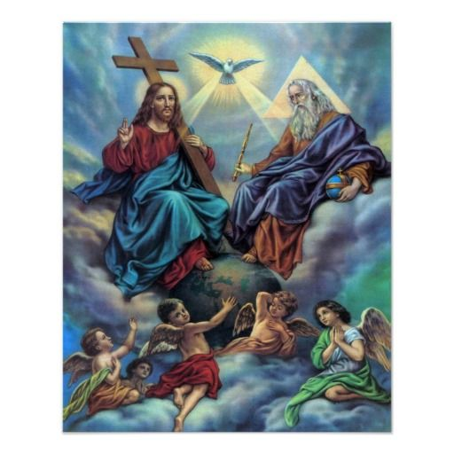 Most Holy Trinity Custom Poster Classroomulletin