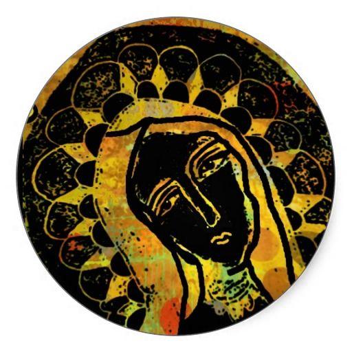 Black Virgin Of Guadalupe Sticker Inspirational Shrinesalters