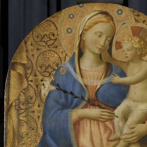 Madonna Of Humility, Fra Angel C