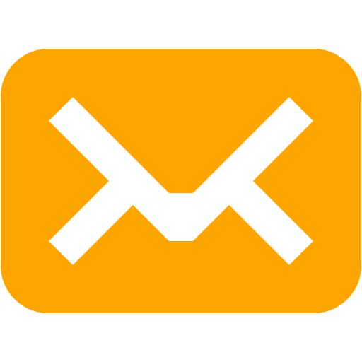Orange Mail Icon