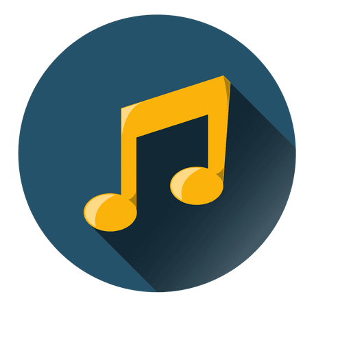 Music Note Circle Icon