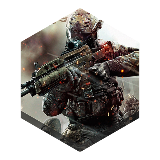 Game Black Ops Icon Hex Iconset