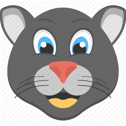 Animated Panther, Baby Panther, Black Panther, Panther Face