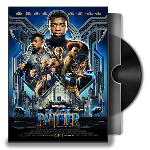 Black Panther Dvd Cover Icon