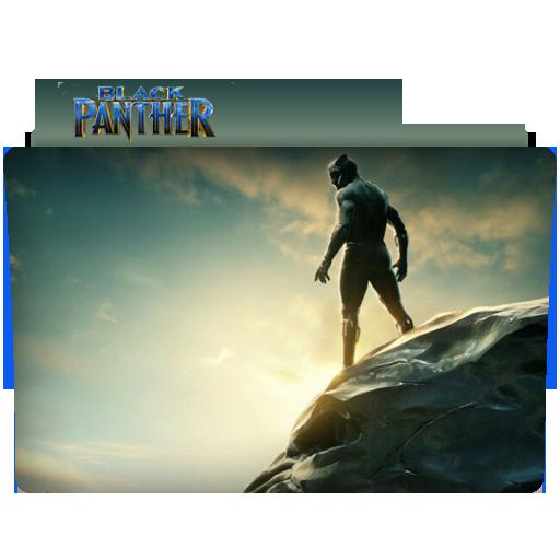Black Panther Folder Icon