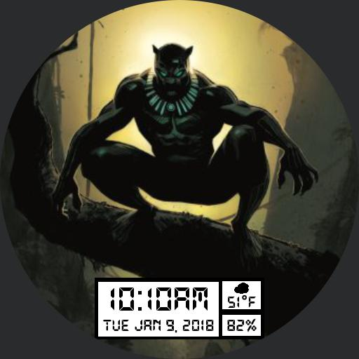 Black Panther For Huawei Watch