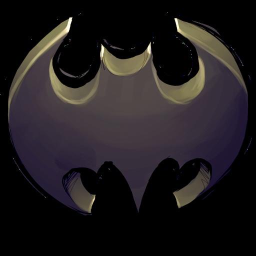 Comics Batman Logo Icon Ultrabuuf Iconset Mattahan