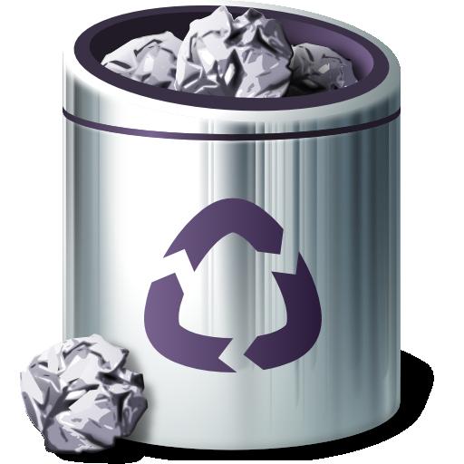 Places Trash Full Icon Fs Ubuntu Iconset