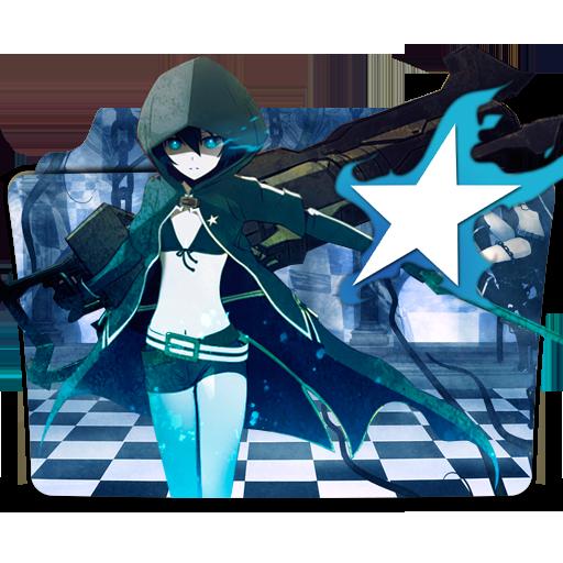 Black Rock Shooter Folder Icon Version